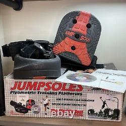 JUMPSOLES Plyometric Training Platforms Box Manual Large L Mens 11 14