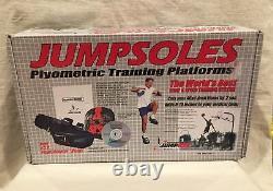 JUMPSOLES Plyometric Training Platforms LARGE Mens 11-14 1/2 WithBox&User Manual