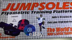 JUMPSOLES Plyometric Training Platforms MEDIUM Mens 8-10-1/2 NEW