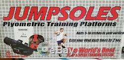 JUMPSOLES Plyometric Training Platforms MEDIUM Mens 8-10-1/2 original everything