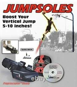 JUMPSOLES Plyometric Training Platforms Plugs LARGE Mens 11-141/2 NEW