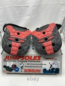JUMPSOLES Plyometric Training Platforms Plugs Mens MEDIUM 8-10.5 MED
