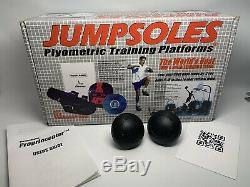 JUMPSOLES Plyometric Training Platforms Plugs XLARGE 15-20 NEW