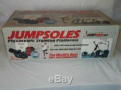JUMPSOLES Plyometric Training Platforms(size 8-10 medium)