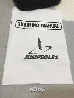 JUMPSOLES Plyometric Training System Adult Large 11 12 13 14 Platform DVD Boxed