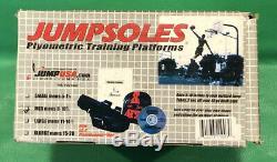 JUMPSOLES Plyometric Vertical Jump Speed Training Platforms MEDIUM Mens 8-10-1/2