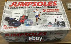 JUMPSOLES plyometric TRAINING AID platforms DEVICE LARGE new JUMPING