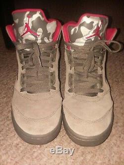 Jordan 5 Retro P51 Camo Size 11 (136027-051)