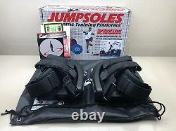 JumpSoles Plyometric Training Platforms Adjustable to Multiple Larger Sizes