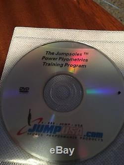 JumpSoles Plyometrics Vertical Jump Trainers with Plugs Size Large 11-14