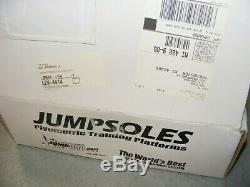JumpSoles Strength Training Strap on Platforms Mens L 11 14 1/2 / w DVD Box