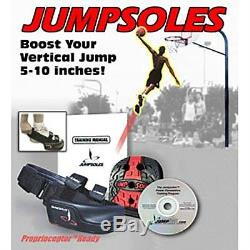 Jump Sole (LARGE sz 11-14) Jumpsole Increase Your Vertical Leap! FREE DVD! NEW