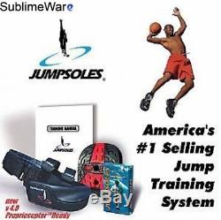 Jump Sole (medium Size 8-10) Jumpsole Shoes with a Platform to Increase