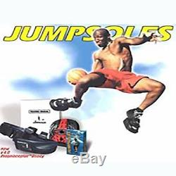 Jump Soles Improve Your Vertical Speed Training Shoes Medium 8-10withDVD NEW