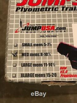 Jump Soles Training Platforms Basketball NEW! $130 Retail! Med. 8-10.5 Shoe Size