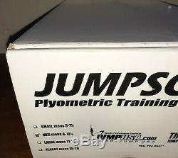 Jumpsoles Advanced Proprioceptor Package Medium 8-10.5 in Box with CD