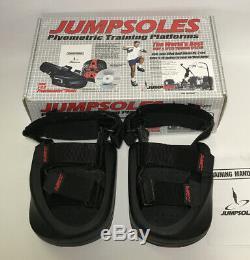 Jumpsoles Jumps Plyometric Vertical Jump Training Shoes Medium M 8-10 & Manual