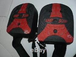 Jumpsoles Large 11-14 Plyometric Vertical Jump Training Shoes