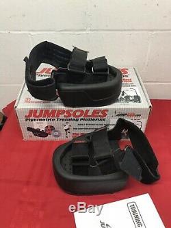 Jumpsoles Mens Med. 8-10.5 Plyometric Basketball Vertical Jump Training Platform