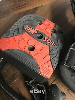 Jumpsoles Mens Medium 8-10 Basketball Jump Training Shoes & Proprioceptor Plugs