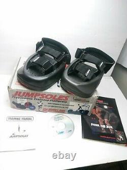 Jumpsoles Plyometric Training Platform Speed System Jump Shoes Sz L Mens 11-14 f