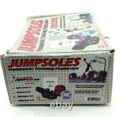 Jumpsoles Plyometric Training Platforms Large Men's 11-14 1/2 With Box Used Cond