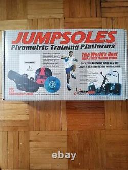 Jumpsoles Plyometric Training Platforms Large Mens 11-14 1/2 COMPLETE