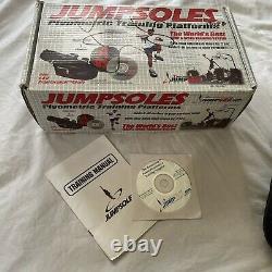 Jumpsoles Plyometric Training Platforms Large Mens 11-14 1/2 With box used