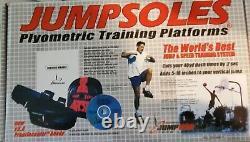 Jumpsoles Plyometric Training Platforms Mens Size 11-14 withBox EUC Jump Sol