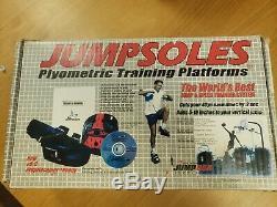 Jumpsoles Plyometric Training Platforms Size Large Men's 11 to 14.5