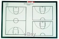 KBA Multi-Court Basketball Playmaker Whiteboard 24 x 36, New