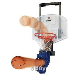 Kids Mini Basketball Hoop With Rebounder and Automatic Ball Return Over The Door