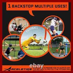 Lacrosse Net Baseball Softball Practice Perfect Golf Soccer Basketball Pitching