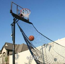 Lifetime Basketball Rebound Roll Back Net Ball Return