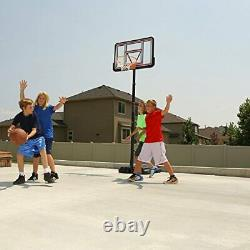 Lifetime Pro Court Height Adjustable Portable Basketball System, 44 Inch Backboa