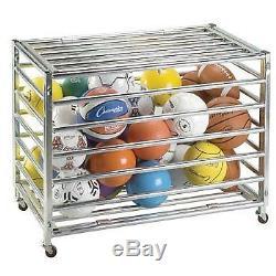 Lockable Ball Storage Locker Champion Sports sports ball storage