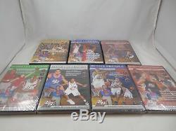 Lot of 7 Better Basketball DVDs 5 Sealed