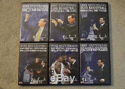 Mike Krzyzewski Duke Basketball 6-pack Championship Productions DVD