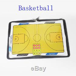 Magnetic Basketball Coaching Board Dry Erase Clipboard Tactical Kit CIMA