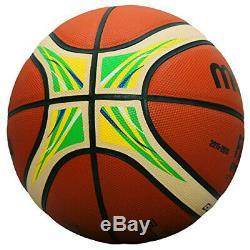 Molten BGL7X-YG Basketball GL7X FIBA Special Edition Official Game Ball No. 7