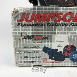 NEW! JUMPSOLES Plyometric Jump Training Platforms MEDIUM Mens 8-10-1/2 NOB