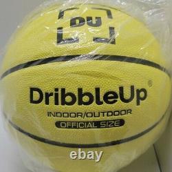 New DribbleUp Smart Basketball Official Size Indoor/Outdoor Basketball Basic DU