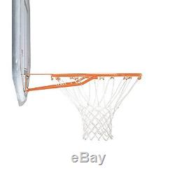 New Height Adjustable Portable Basketball System 44 Inch Backboard Net Game NBA