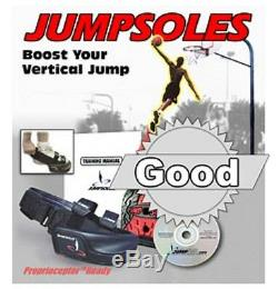 New Jumpsoles Vertical Speed Training Shoe Black Red Men's Size Small 5-7
