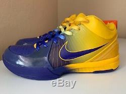 Nike Zoom Kobe IV 4 rings sz 10 prelude proto Lakers