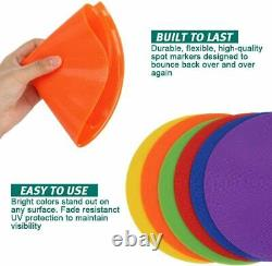 Non-slip flat rubber Agility Sign Conical pitch for basketball football sport