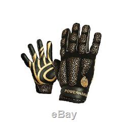 POWERHANDZ Weighted Anti Grip Basketball Gloves Large Free Shipping