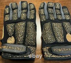 POWERHANDZ Weighted / Anti Grip Basketball Gloves Sz. XL NEW BASKETBALL TRAINING