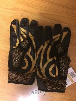 POWERHANDZ Weighted Anti Grip Football Gloves X-Large