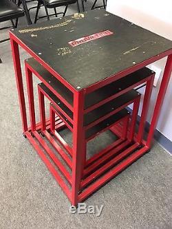Plyometric Platform Box Set -12, 18, 24, 30 Red